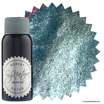 Encre Robert Oster Shake'N'Shimmy 50ml - Silver Fire and Ice