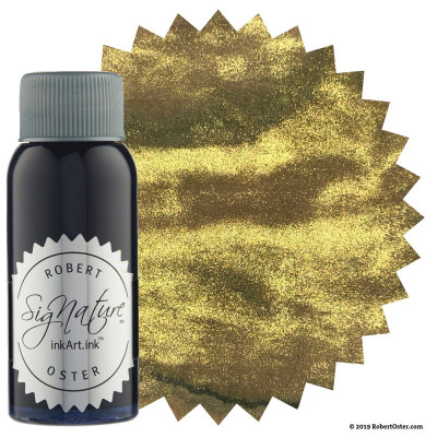Encre Robert Oster Shake'N'Shimmy 50ml - Heart of Gold