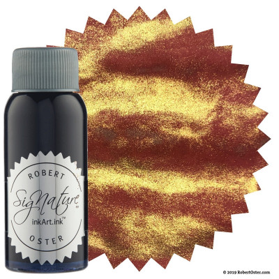 Encre Robert Oster Shake'N'Shimmy 50ml - Red Gold