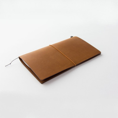 Starter Kit Traveler's Notebook - Regular size CAMEL