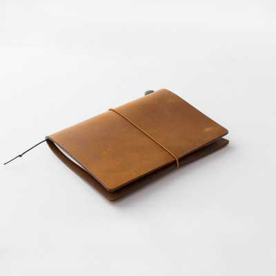 Starter Kit Traveler's Notebook - Passport size CAMEL