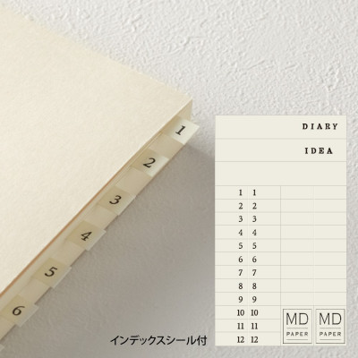 Carnet A5 CODEX MD Paper - 368 pages - dot - Midori