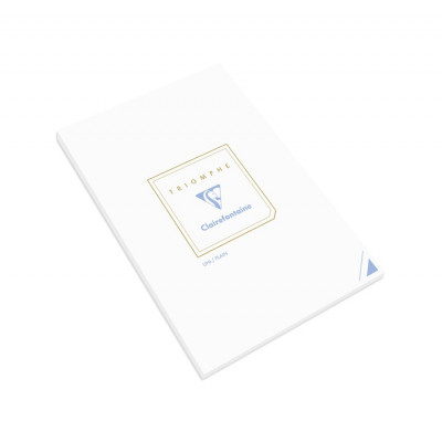 Triomphe - Notepad with 50 plain sheets A5 - Clairefontaine