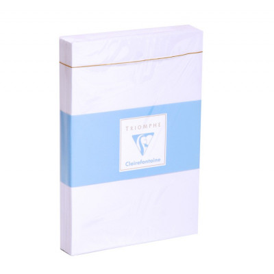Triomphe - 25 enveloppes C6 - Clairefontaine