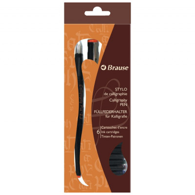 Stylo-plume de calligraphie - 2,3mm - Brause
