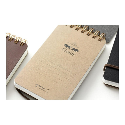 Carnet reporter The World Meister's Products - Marron - Midori