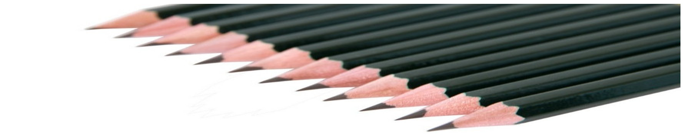 Crayons à papier - Papeterie haut de gamme